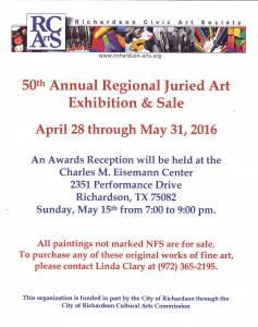 50th Annual Regional Juried Art Exhibition And Sale